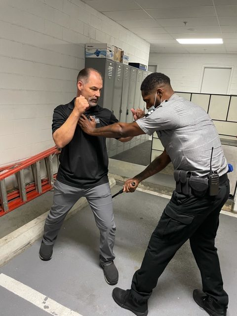 Davis Security Services - Baton Defense Training