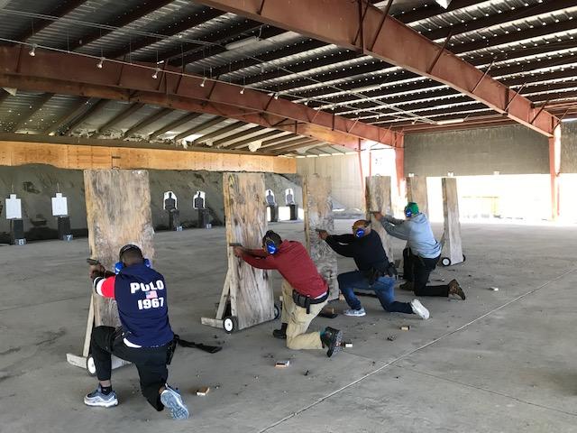 Davis Security Services - Shooting Range Practice